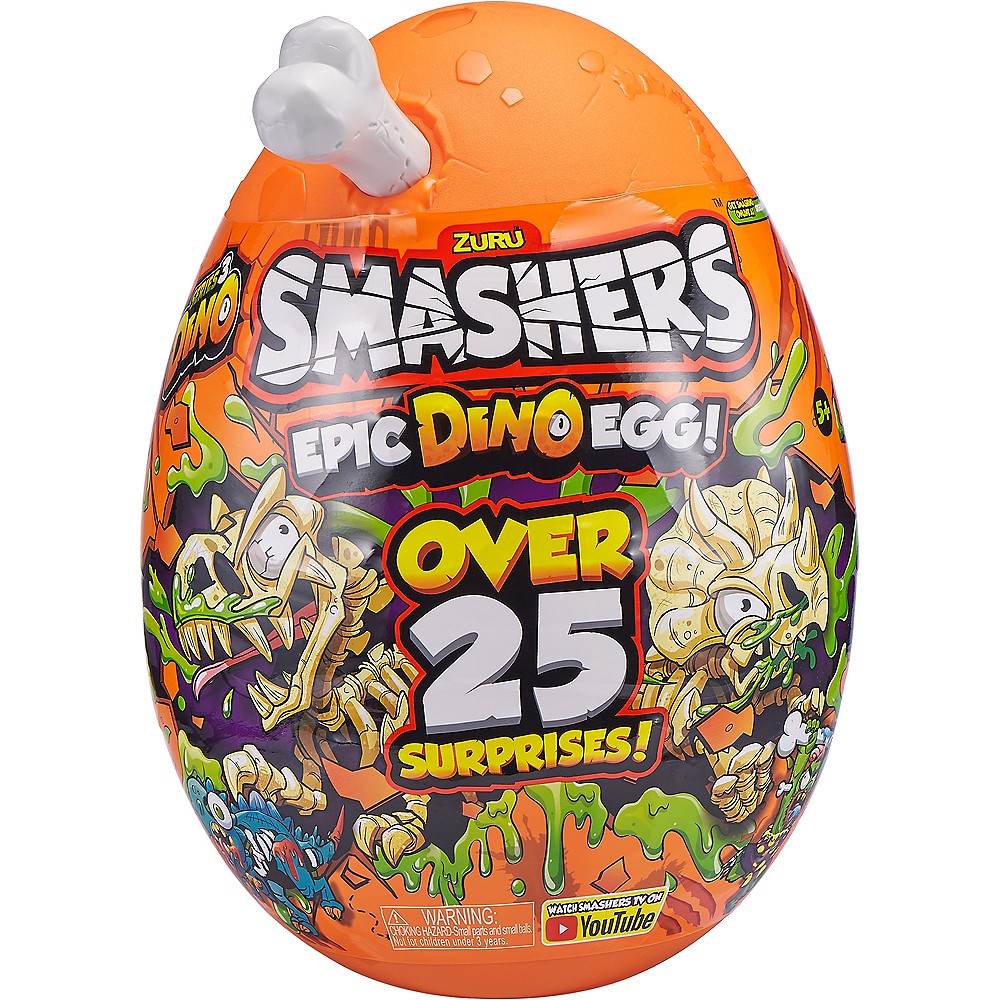 Smashers Epic Dino Egg Collectibles Series 3 Dino by ZURU Image #3