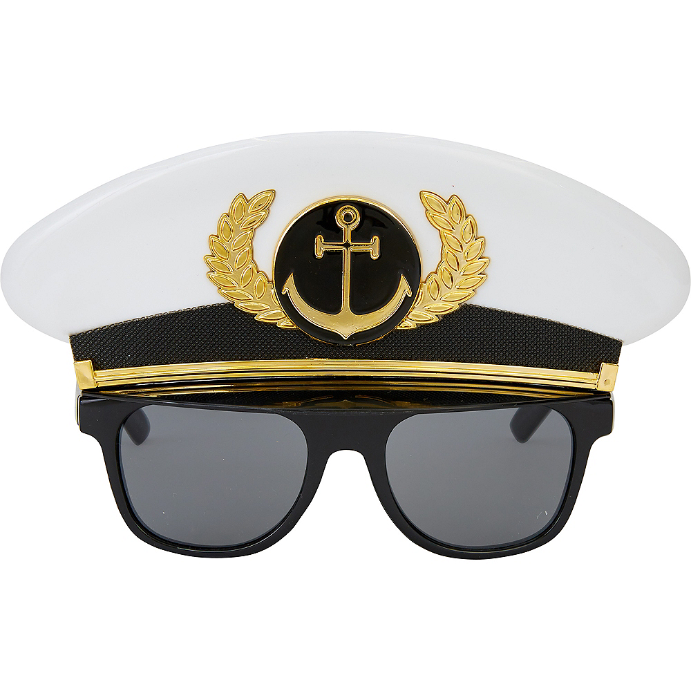 Child Sea Captain Sunglasses Image #1