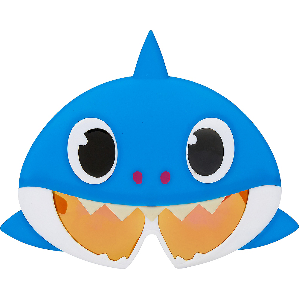 Child Daddy Shark Sunglasses - Baby Shark Image #1