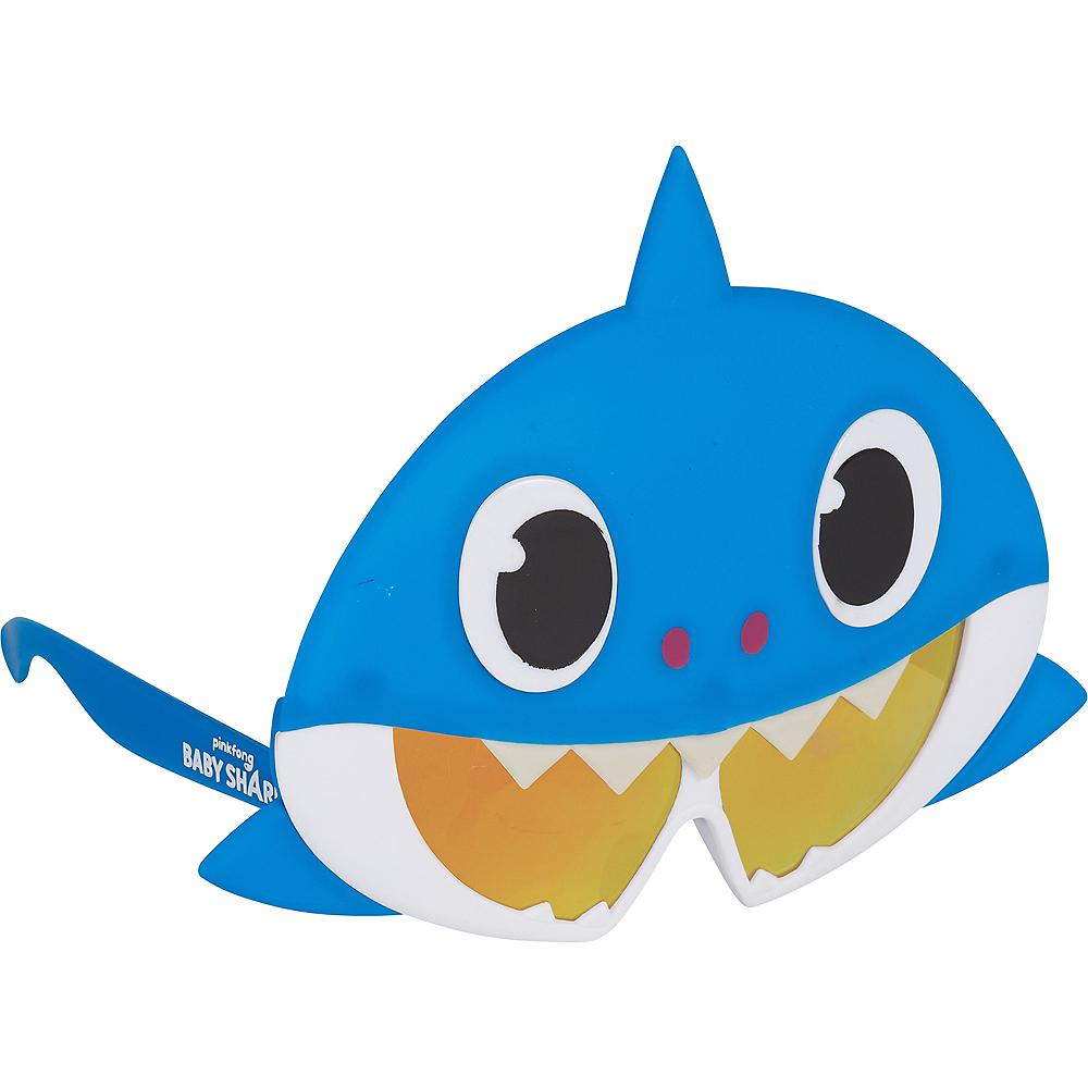 Child Daddy Shark Sunglasses - Baby Shark Image #2