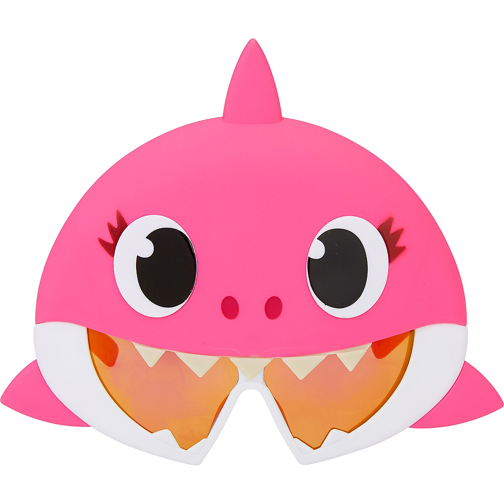 Child Mommy Shark Sunglasses - Baby Shark Image #1