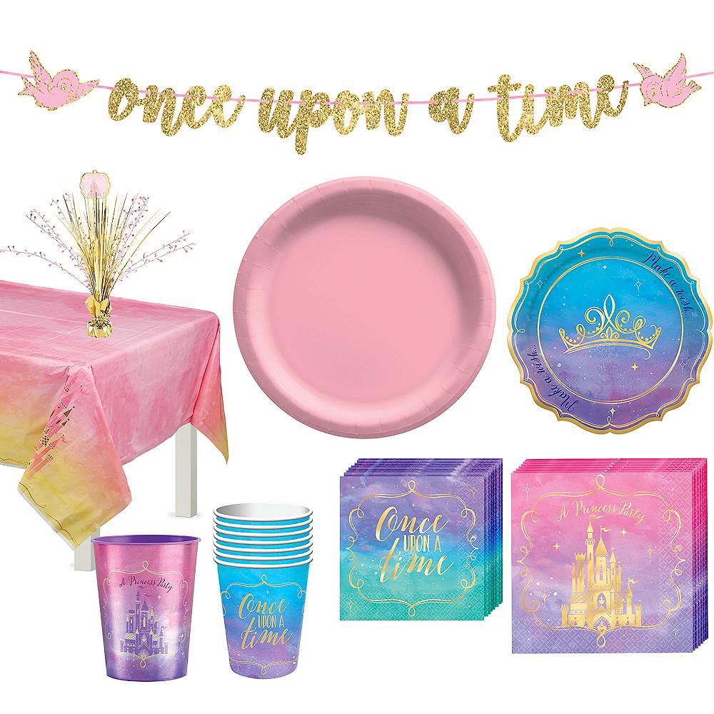 Disney Princess Tableware Kit for 8 Guests Image #1