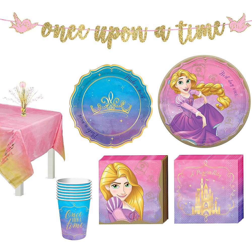 Disney Princess Rapunzel Tableware Kit For 8 Guests