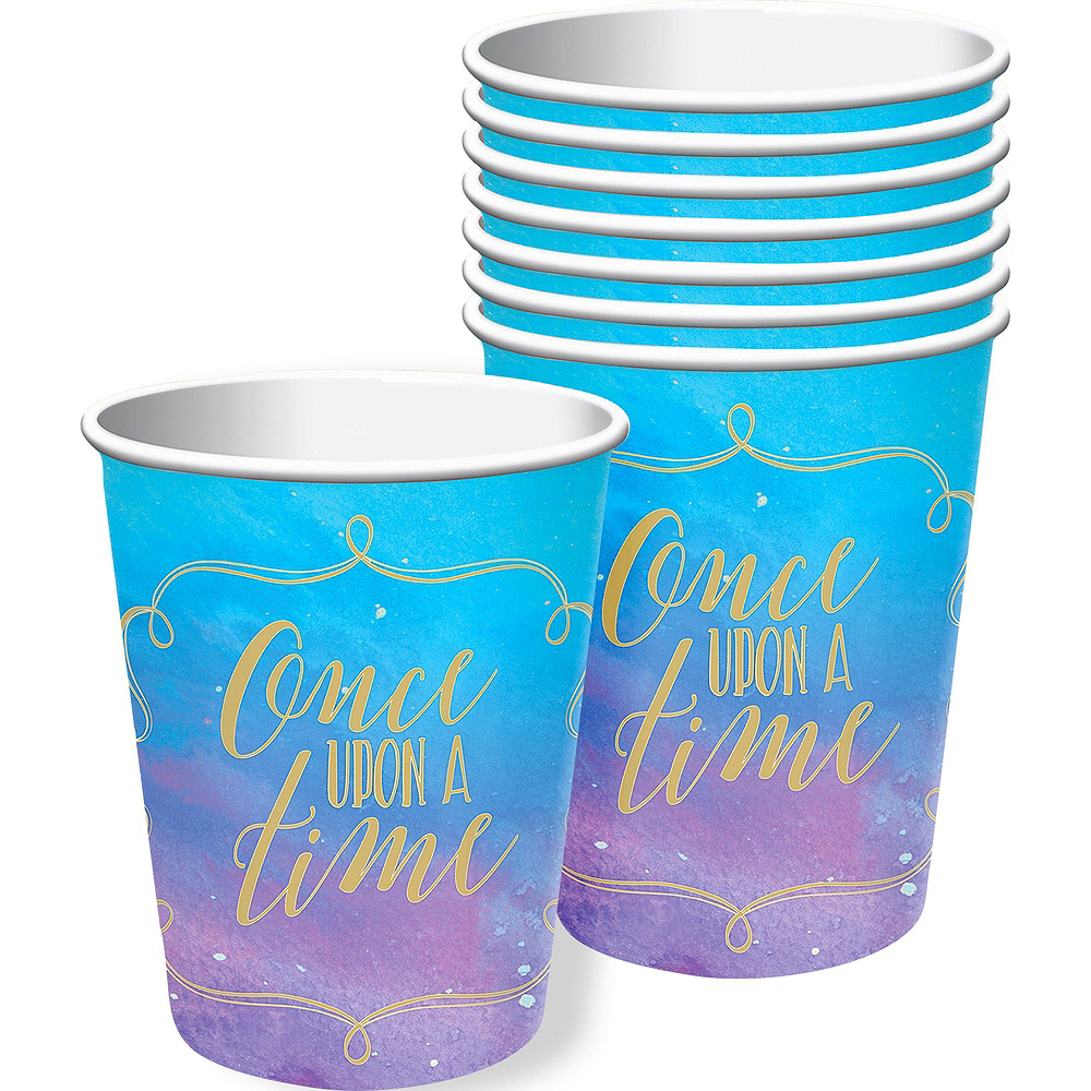 Disney Princess 1st Birthday Tableware Kit for 16 Guests Image #6