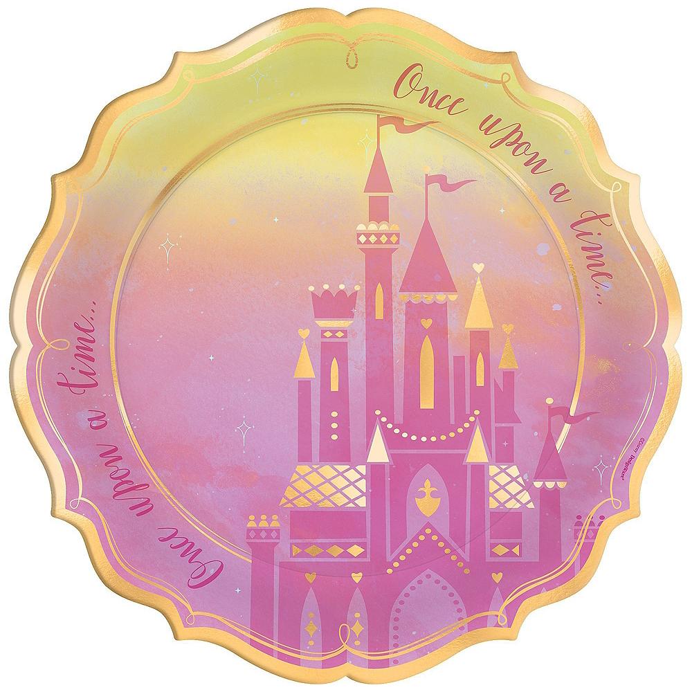 Disney Princess 1st Birthday Tableware Kit for 24 Guests Image #3