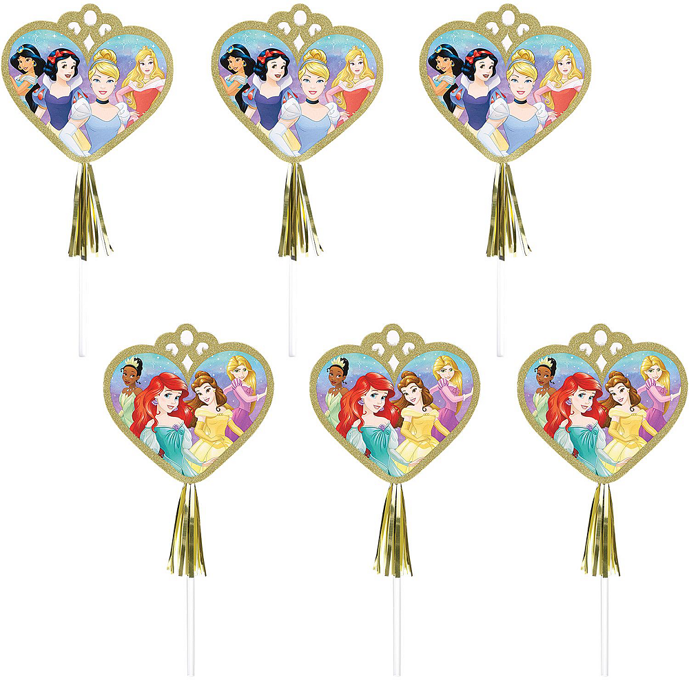Disney Princess 1st Birthday Tableware Kit for 24 Guests Image #12