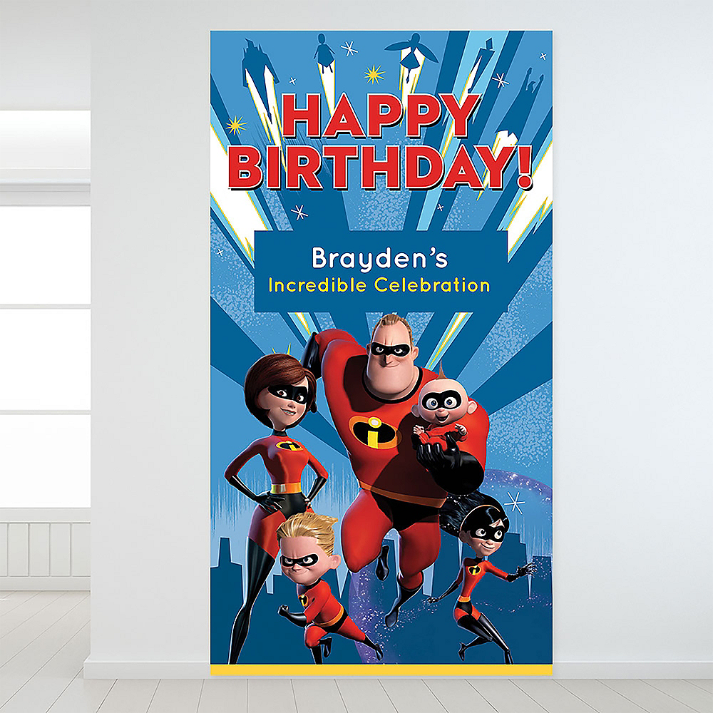 Custom Incredibles 2 Backdrop Image #1
