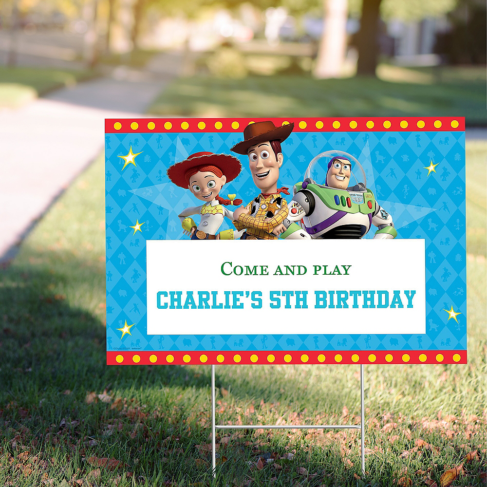 Custom Toy Story 4 Yard Sign Image #1