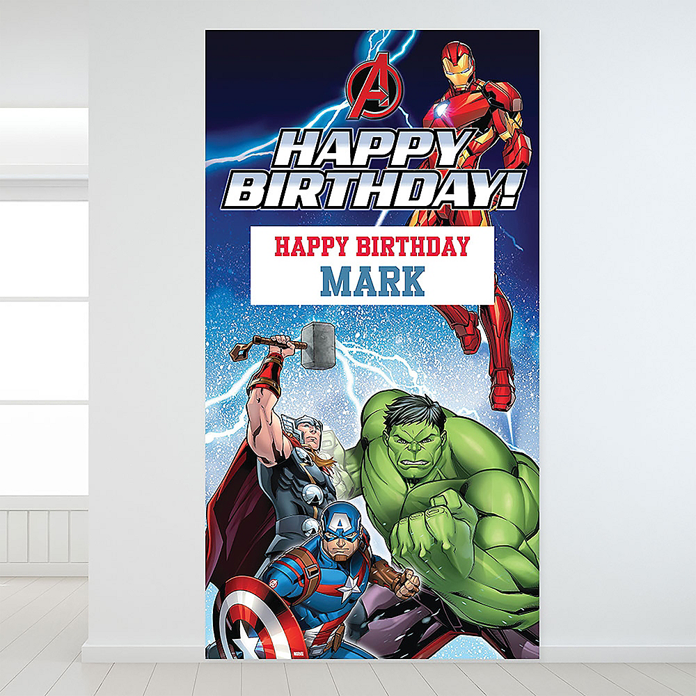 Custom Epic Avengers Backdrop Image #1