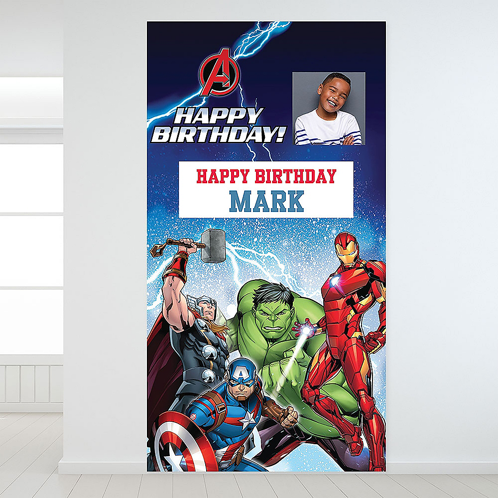 Custom Epic Avengers Photo Backdrop Image #1