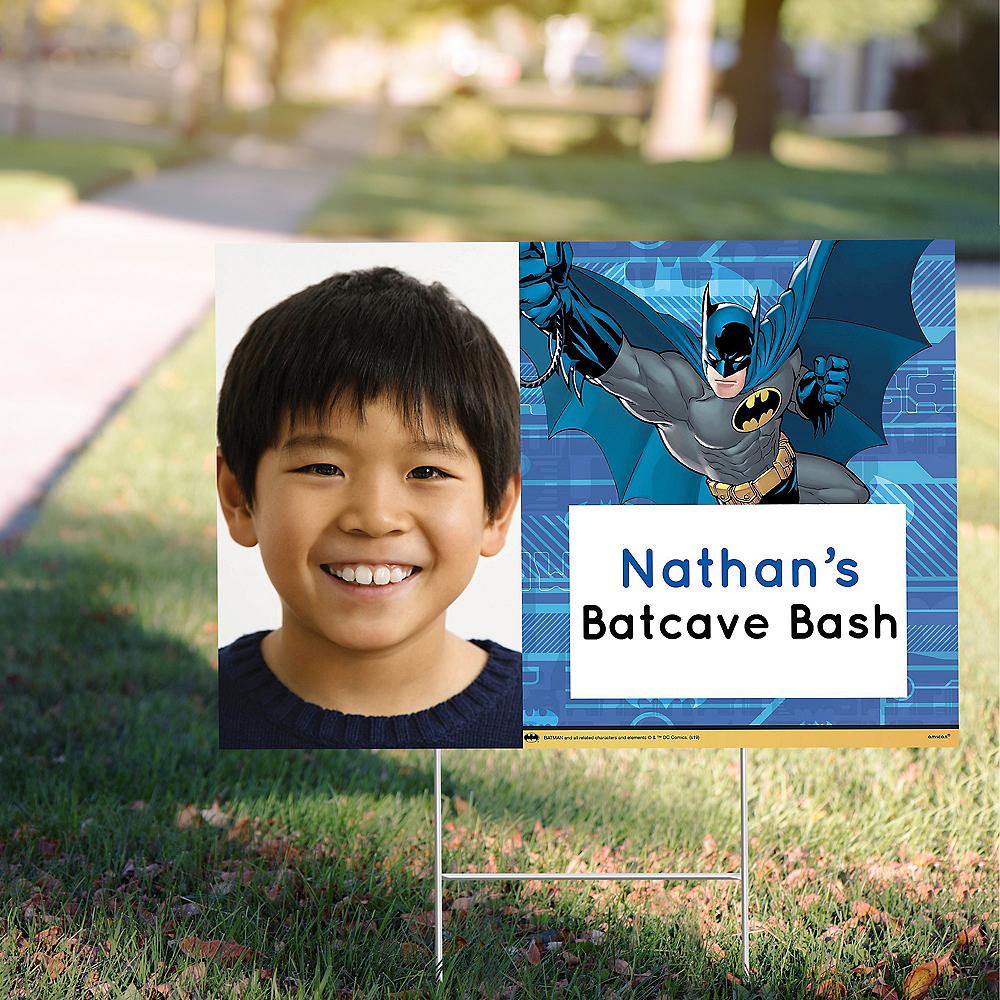 Custom Batman Photo Yard Sign Image #1