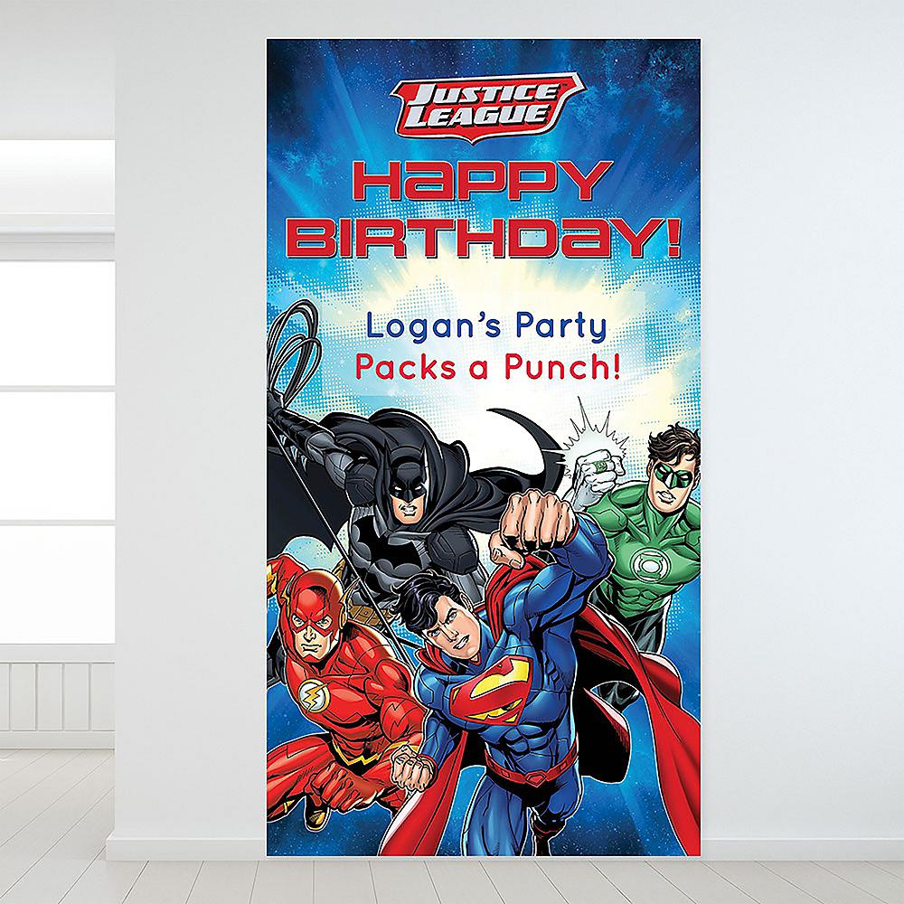 Custom Justice League Backdrop Image #1