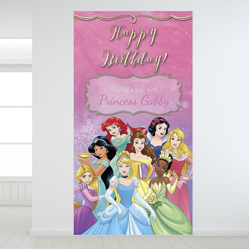 Custom Once Upon a Time Disney Princess Backdrop Image #1