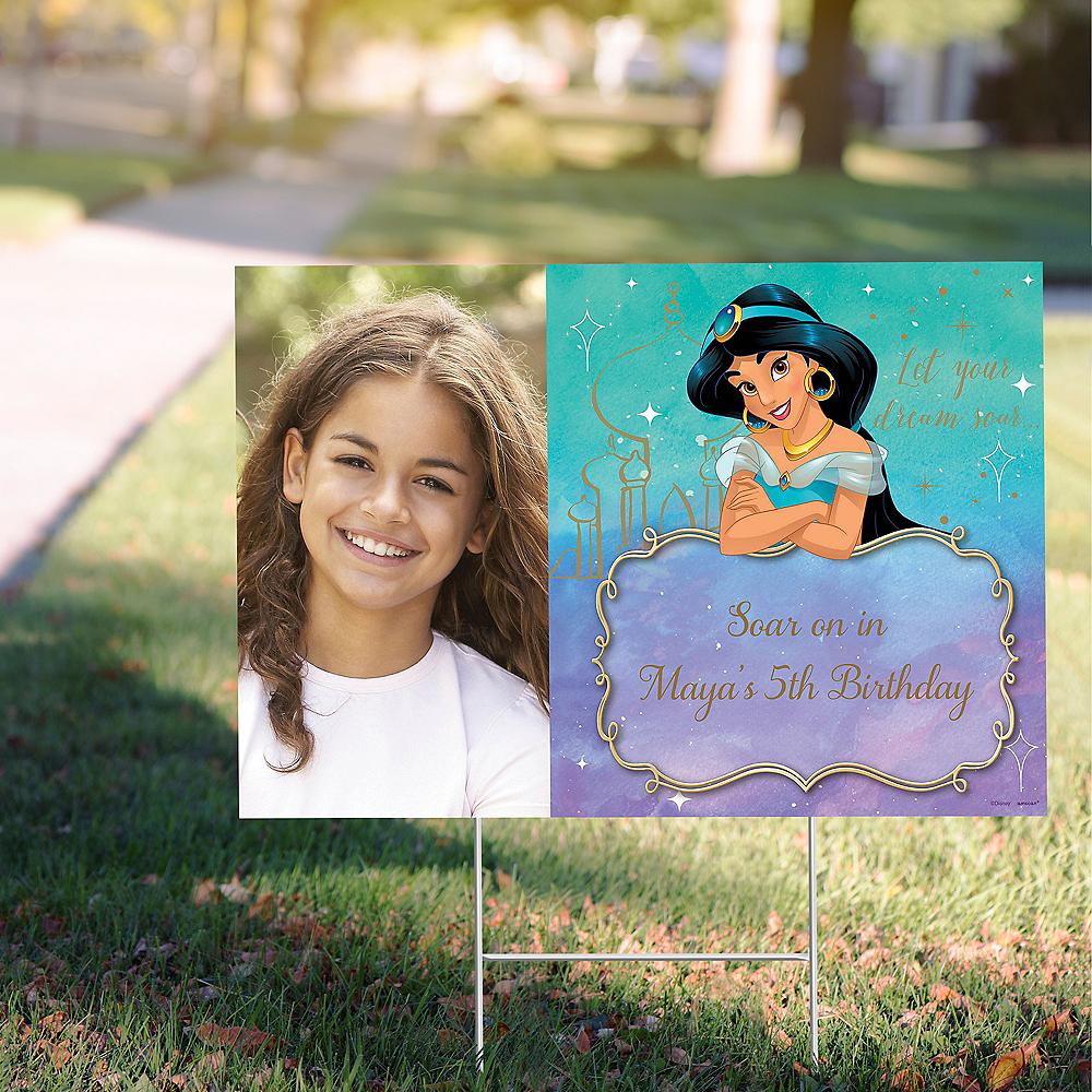 Custom Aladdin Jasmine Once Upon a Time Photo Yard Sign Image #1