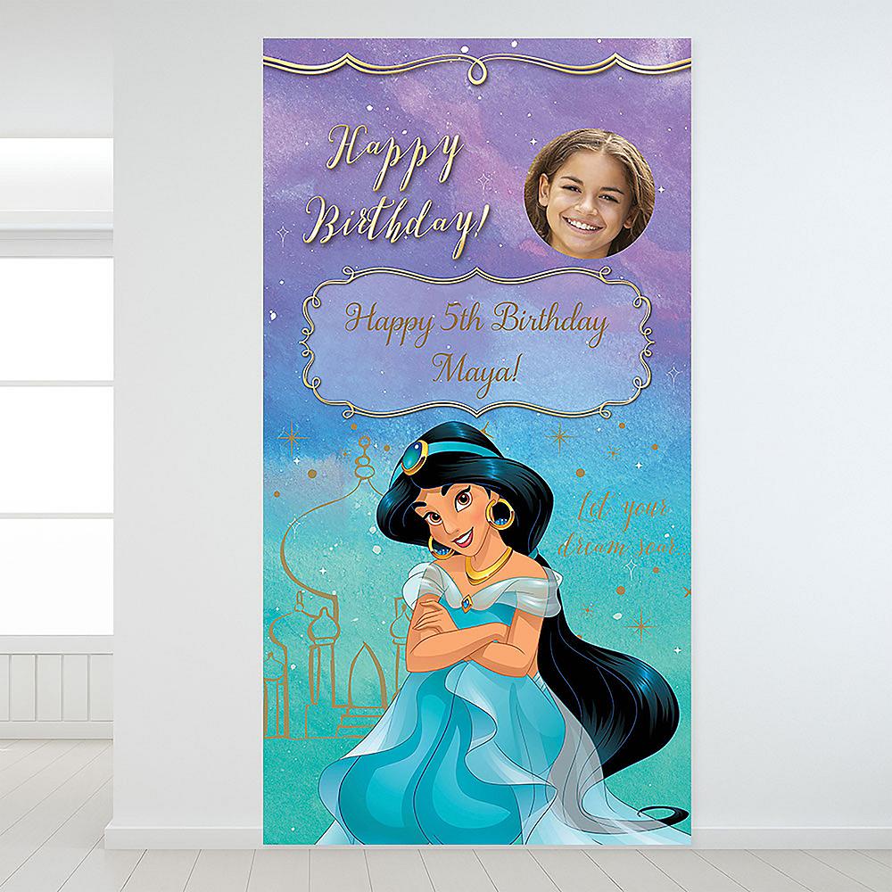 Custom Aladdin Jasmine Once Upon a Time Photo Backdrop Image #1