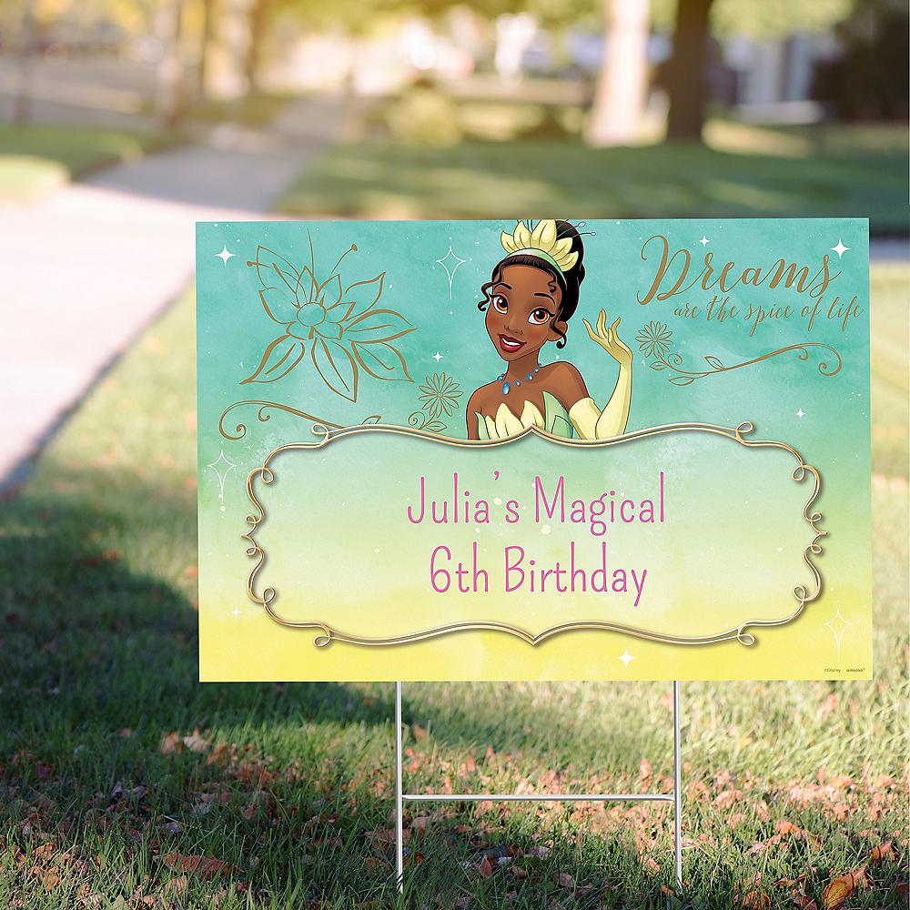 Custom Princess & the Frog Tiana Yard Sign Image #1