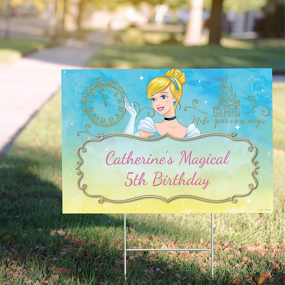 Custom Cinderella Yard Sign Image #1