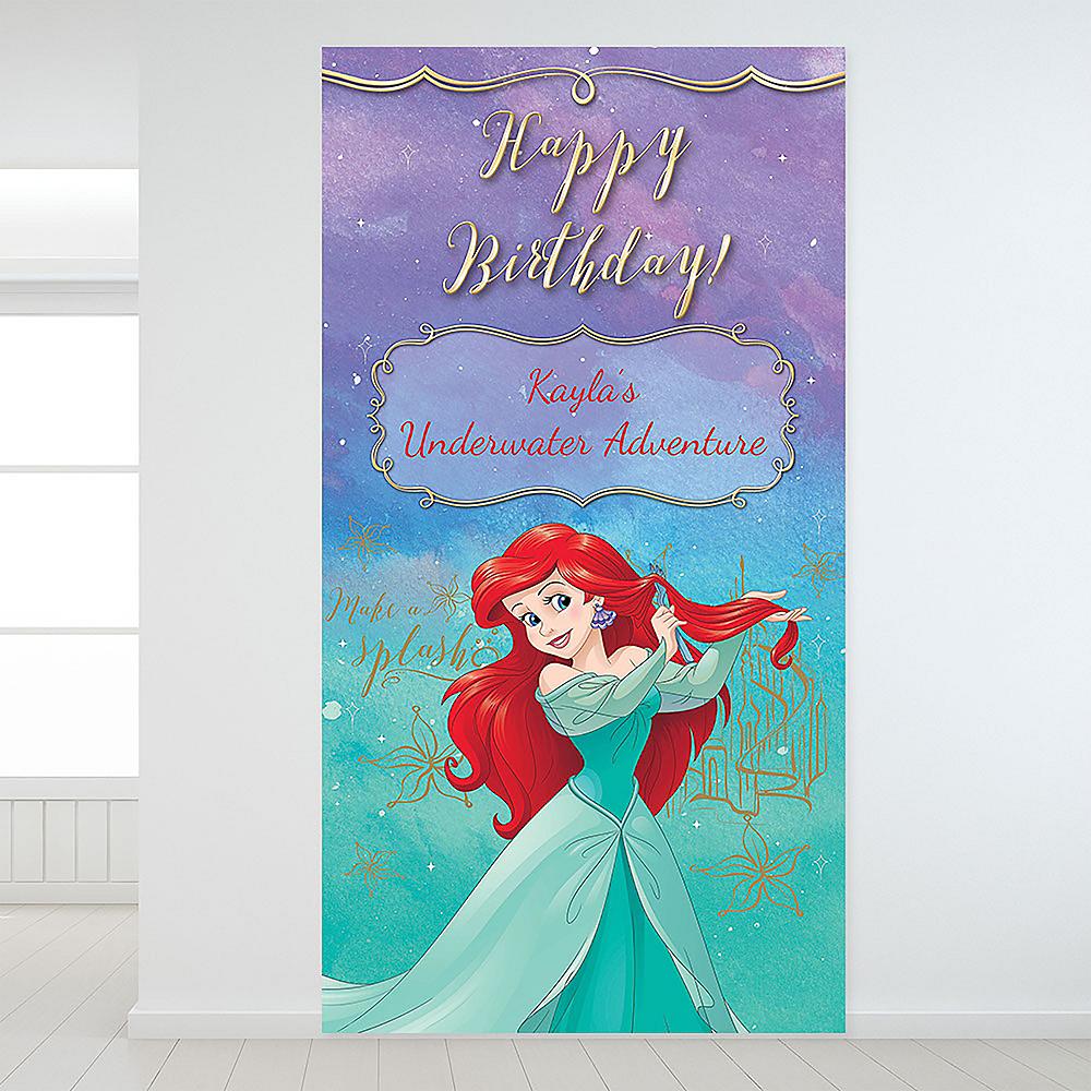 Custom The Little Mermaid Ariel Dream Big Backdrop Image #1