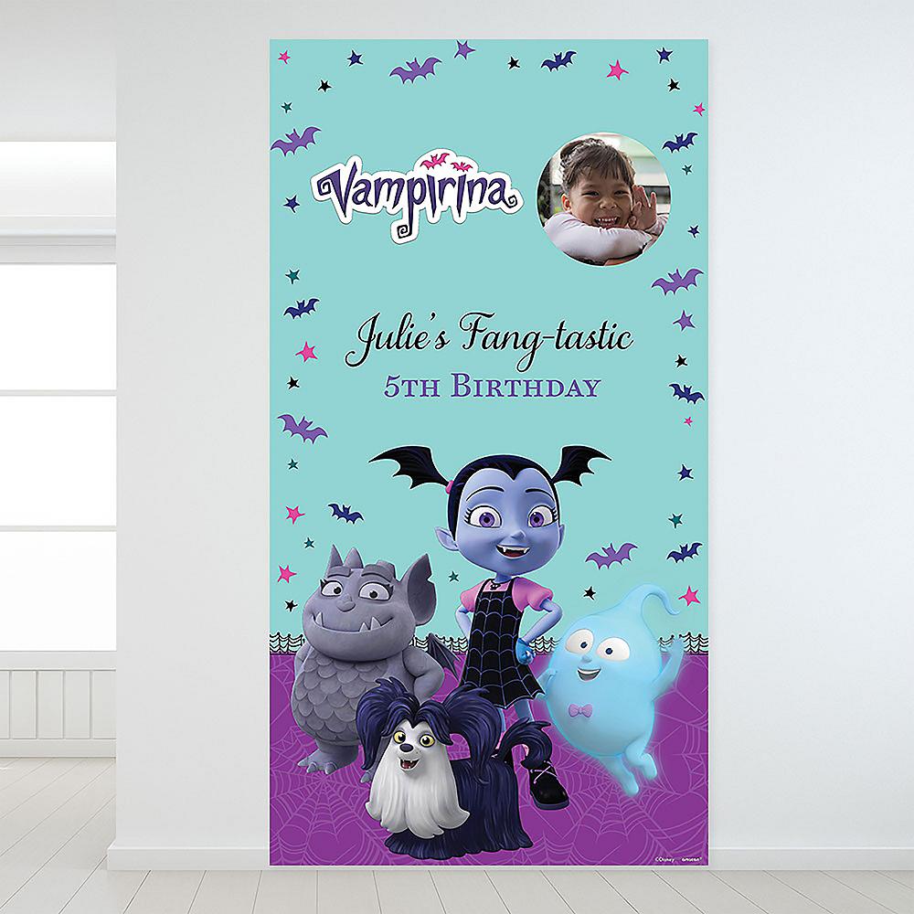 Custom Vampirina Photo Backdrop Image #1