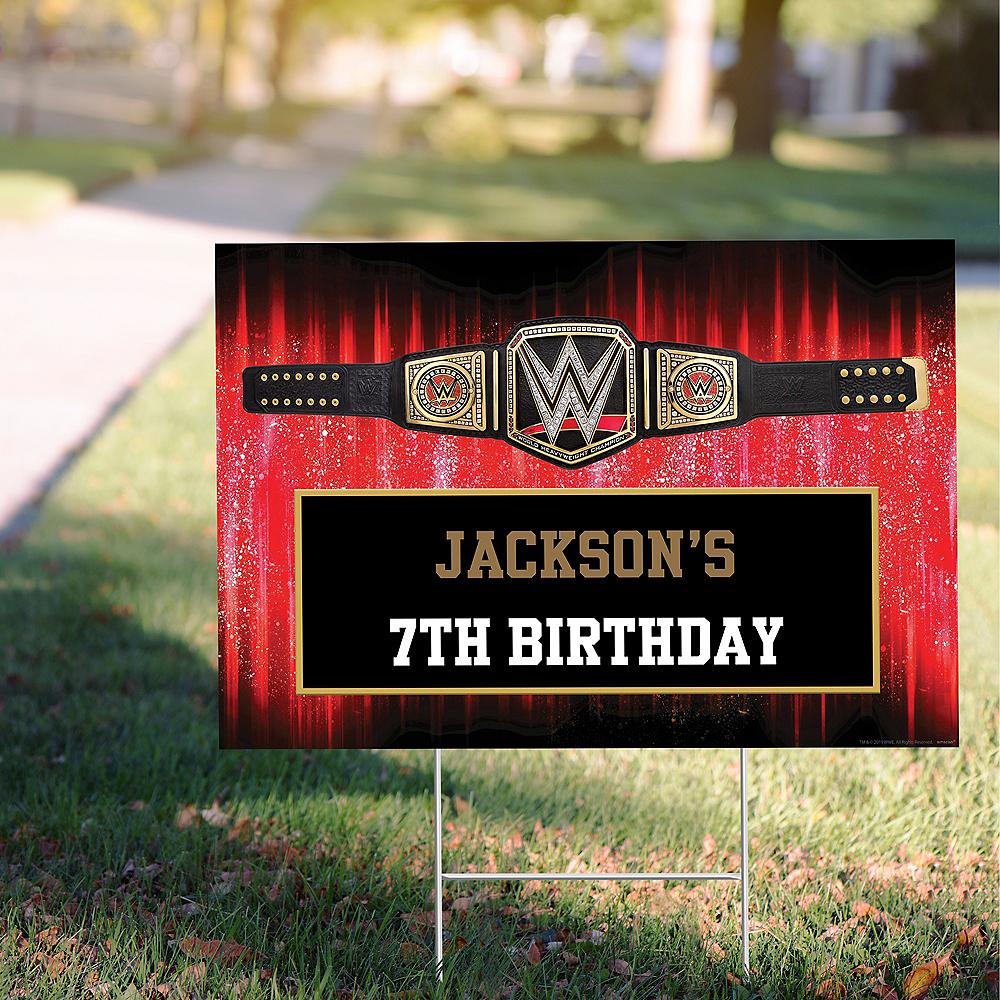 Custom WWE Yard Sign Image #1