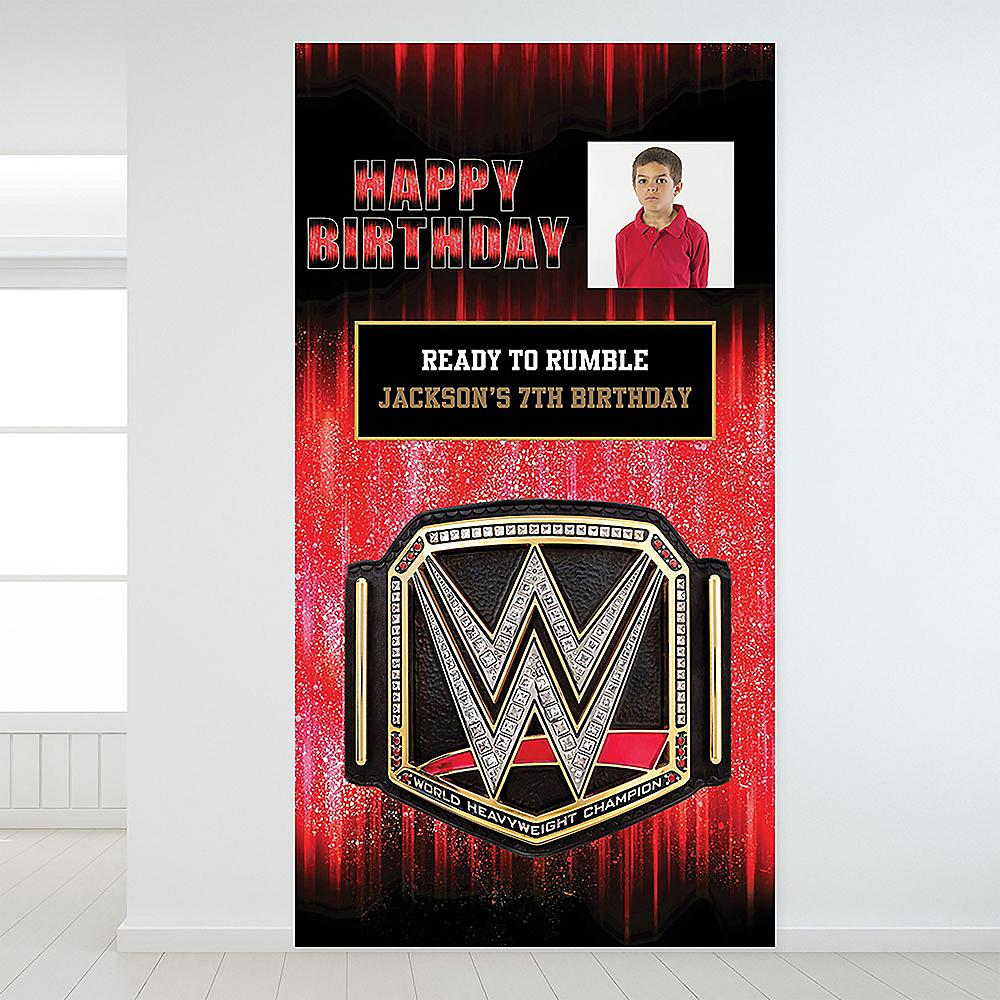 Custom WWE Photo Backdrop Image #1