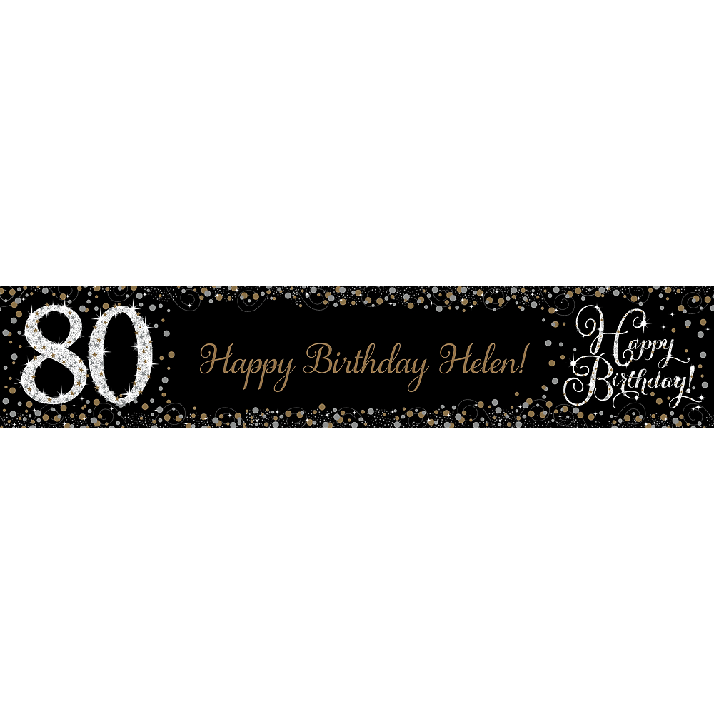 Custom Sparkling Celebration 80 Table Runner Image #1