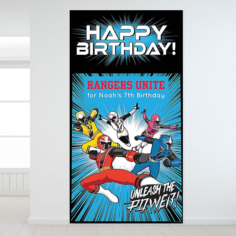 Custom Power Rangers Ninja Steel Backdrop Image #1