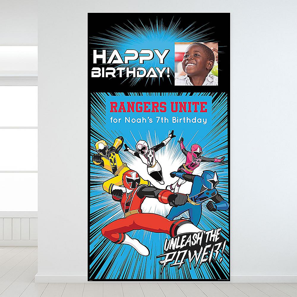 Custom Power Rangers Ninja Steel Photo Backdrop Image #1