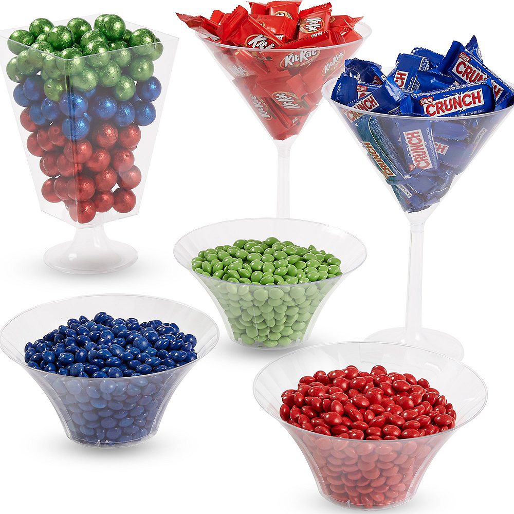 Super Blue, Green & Red Chocolate Candy Kit Image #1