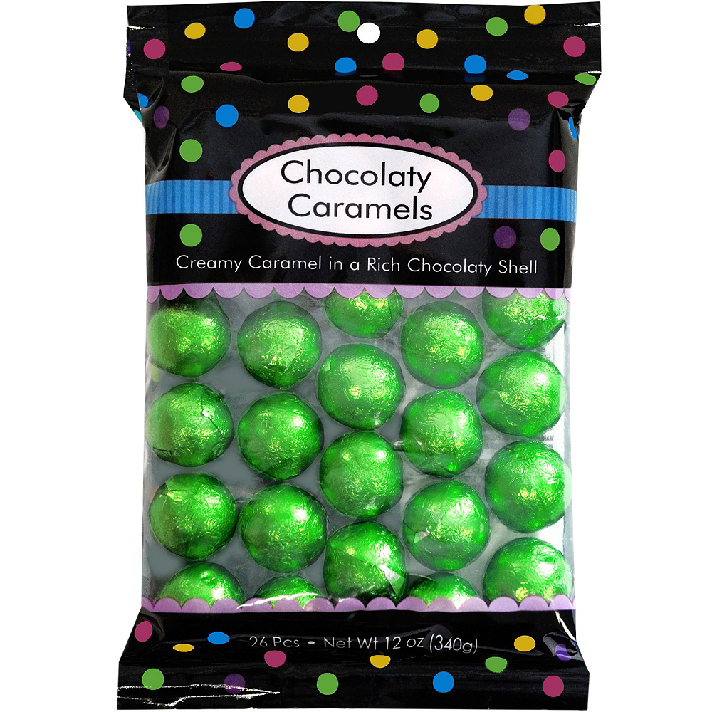Blue, Green & Red Chocolate Candy Kit Image #5