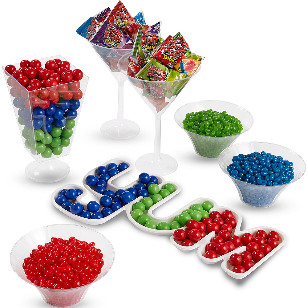 Ultimate Blue, Green & Red Candy Kit Image #1