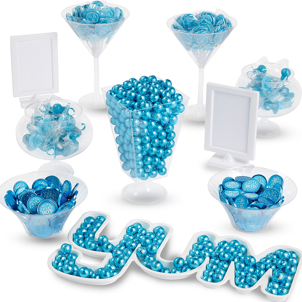 Ultimate It's A Boy Gender Reveal Candy Kit Image #1