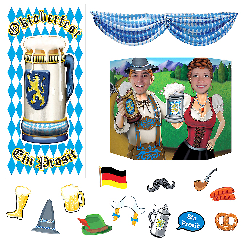 Oktoberfest Fun Photobooth Kit Image #1