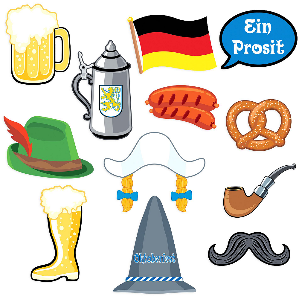 Nav Item for Oktoberfest Fun Photobooth Kit Image #2