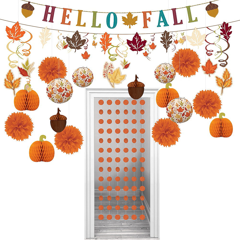 Hello Fall Decorating Kit Image #1