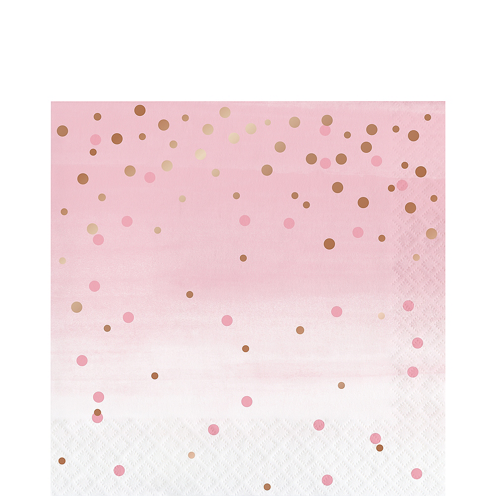 Rosé All Day Dots Lunch Napkins 16ct Image #1