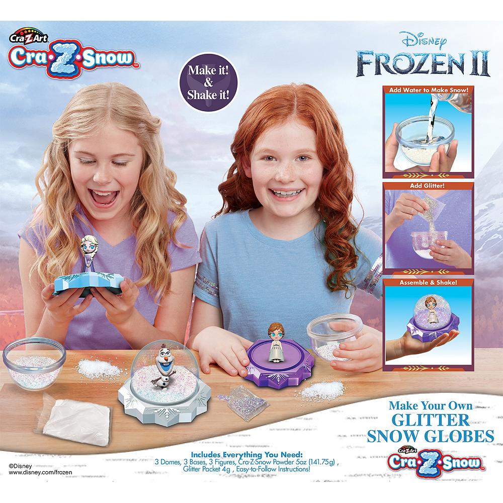 Make-Your-Own Frozen 2 Glitter Snow Globe Image #2