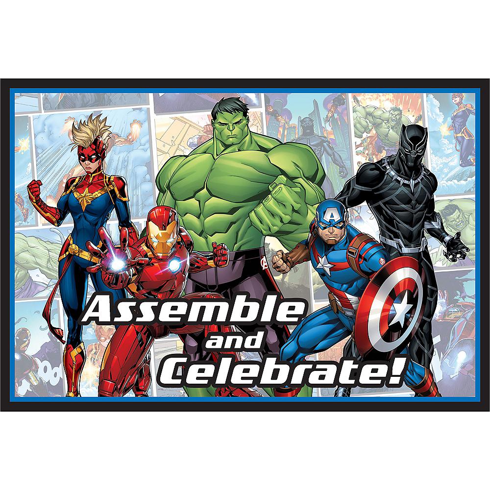 Marvel Powers Unite Invitations 8ct Image #1