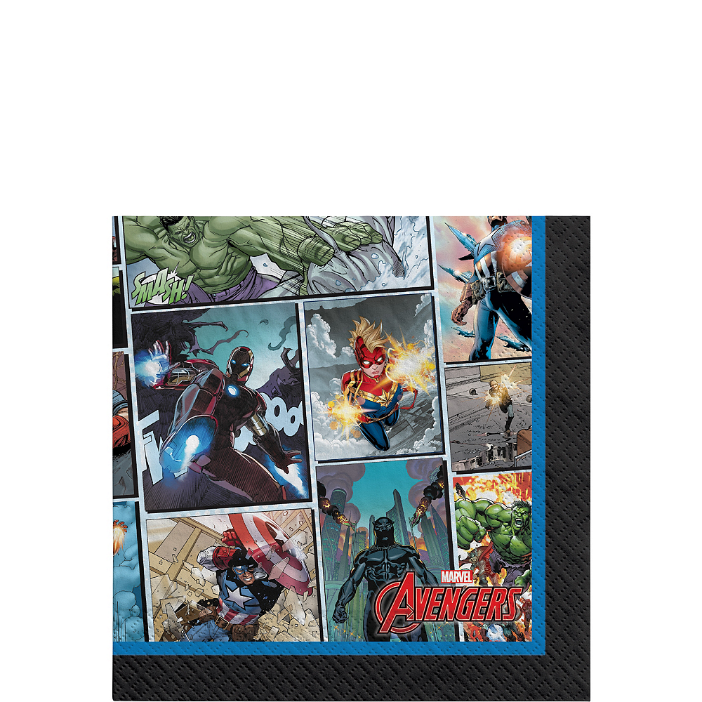 Marvel Powers Unite Beverage Napkins 16ct Image #1