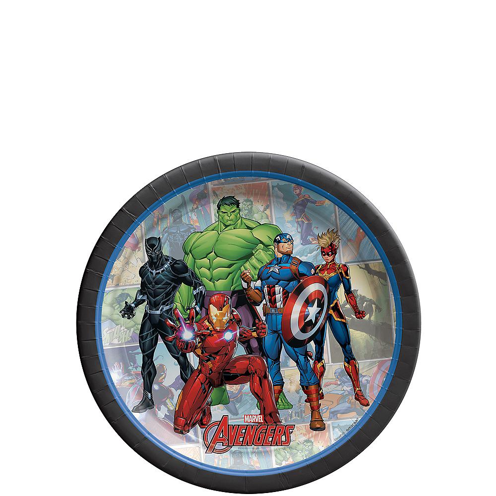 Marvel Powers Unite Dessert Plates 8ct Image #1