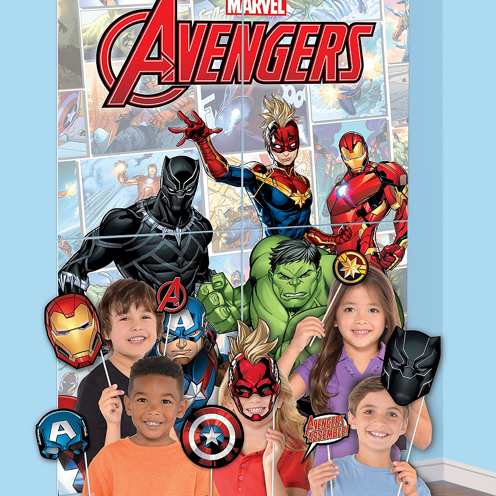 Marvel Powers Photo Booth Kit 16pc Image #1