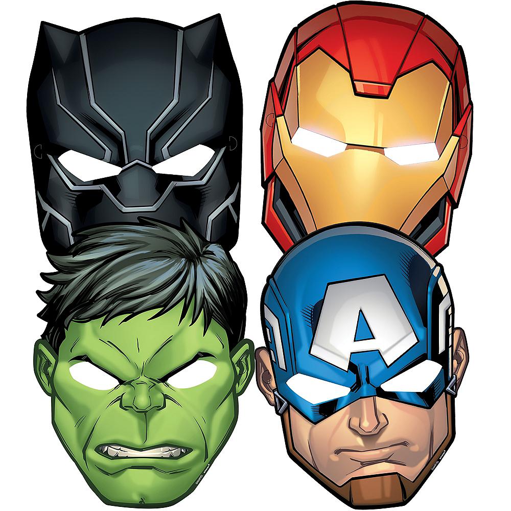 Marvel Powers Unite Masks 8ct Image #1