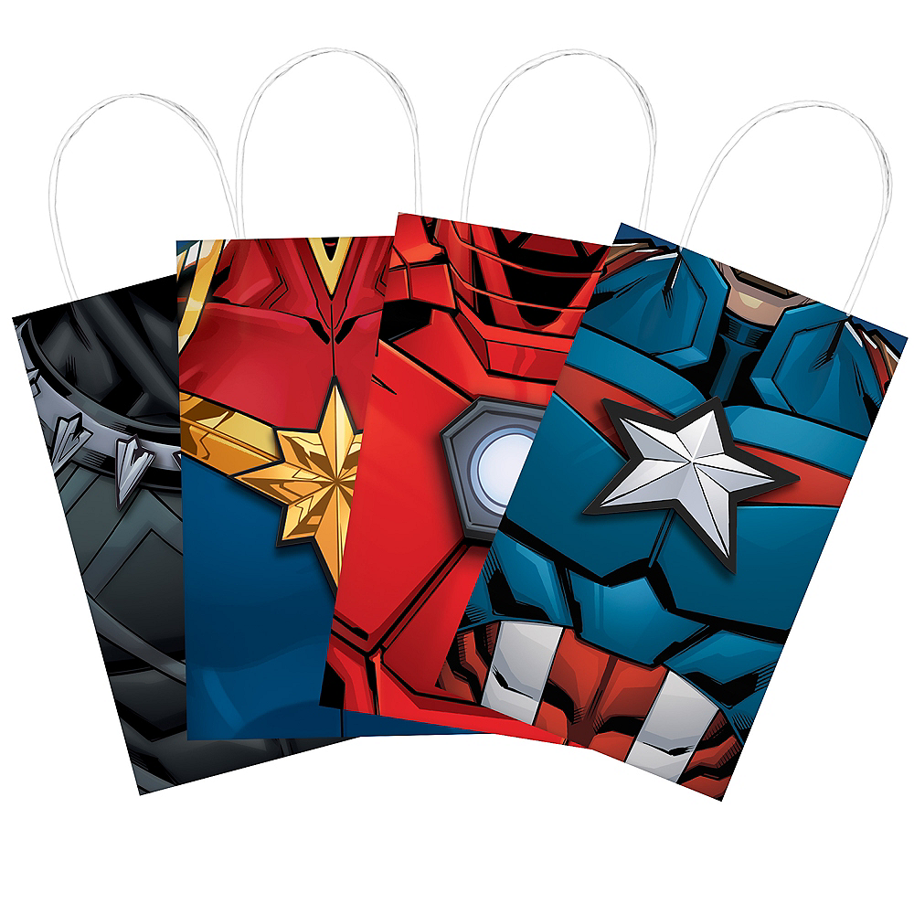 Nav Item for Marvel Powers Unite Create Your Own Favor Bag Kit 8ct Image #1
