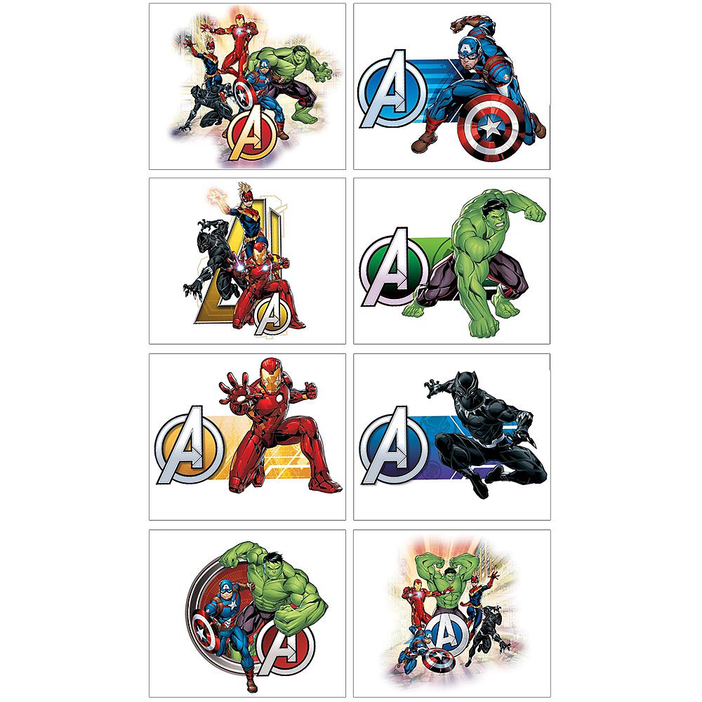Marvel Powers Unite Tattoos 1 Sheet Image #1