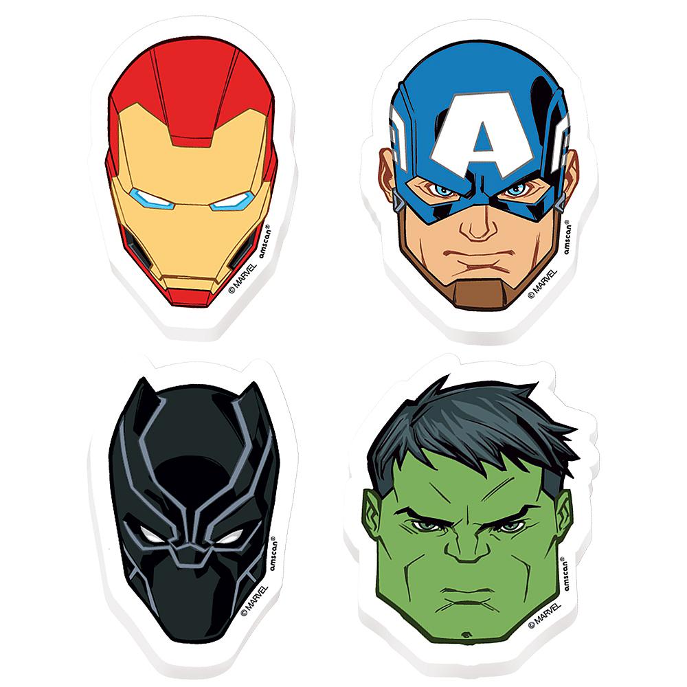 Marvel Powers Unite Erasers 8ct Image #1