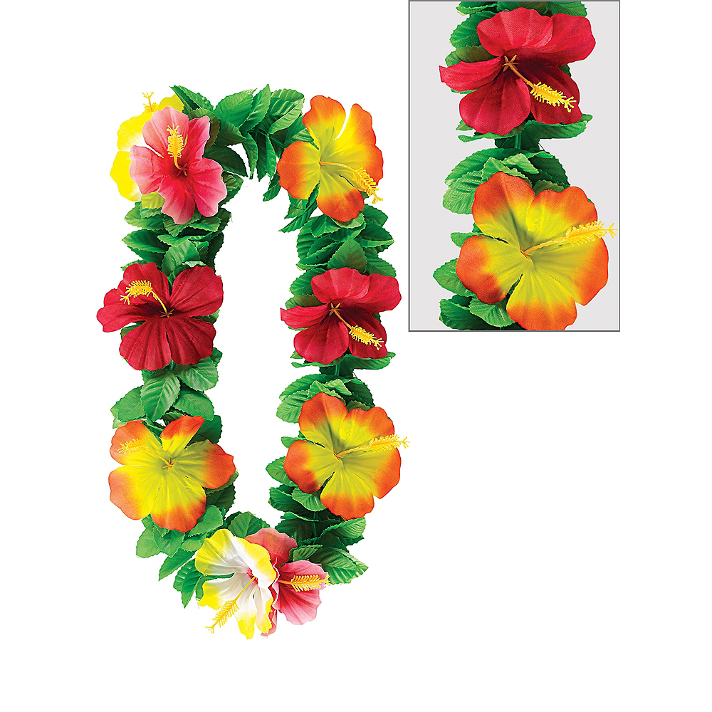 Key West Flower Lei 40in Party City Canada