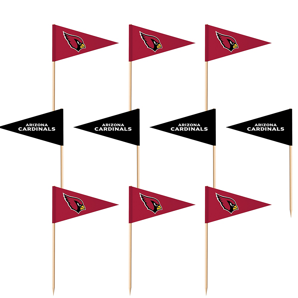 Arizona Cardinals Flag Picks 36ct Image #1