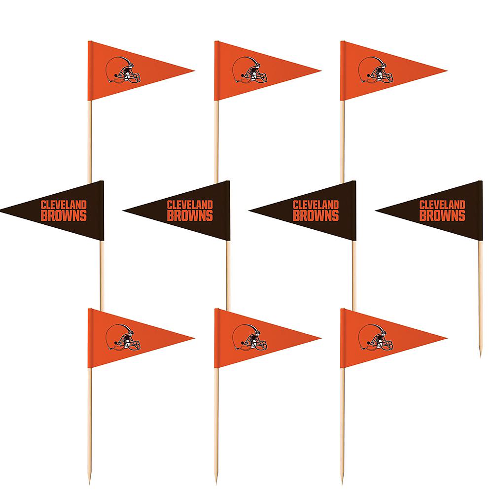 Cleveland Browns Flag Picks 36ct Image #1