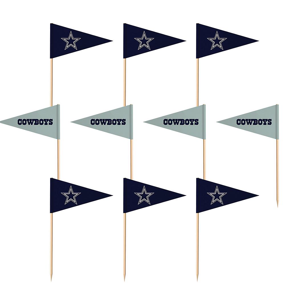 Dallas Cowboys Flag Picks 36ct Image #1