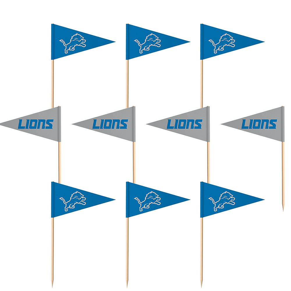 Detroit Lions Flag Picks 36ct Image #1